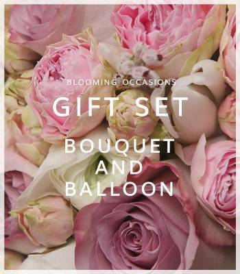 Bouquet and Balloon