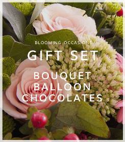 Bouquet Balloon and Chocolates
